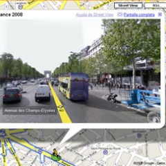 Google Street View paris