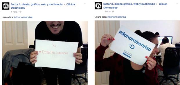 #donomisonrisa Dentnology campaña solidaria abuelos dentistas implantes